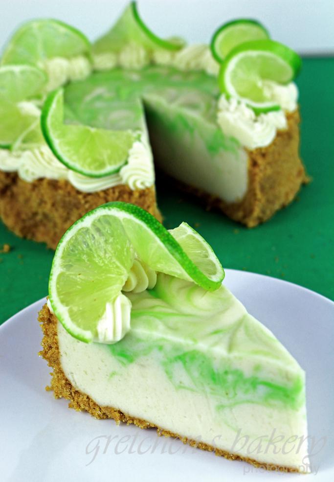 No Bake Vegan Key Lime Cheescake