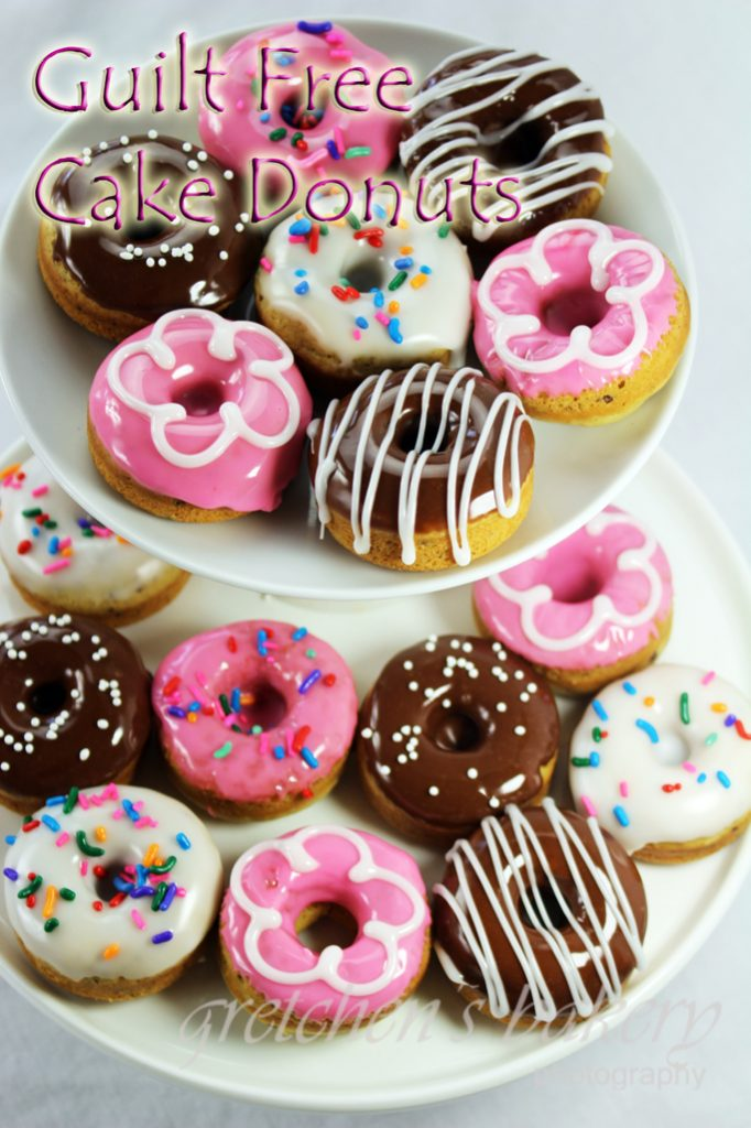 Assorted Vegan Cake Style Donuts